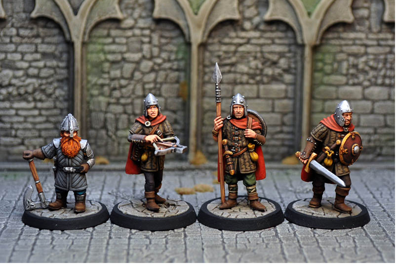 従者と傭兵たち(12体ボックスセット) - 画像4