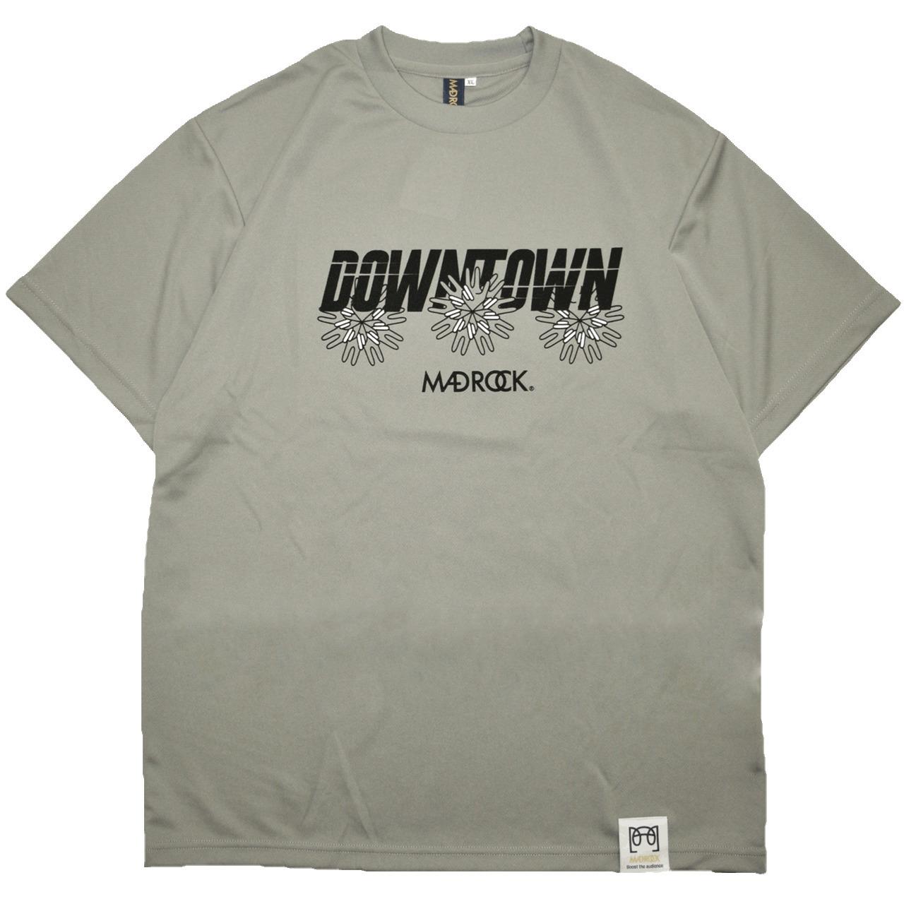 マッドロック - ダウンタウン - Tシャツ / ドライタイプ / グレー / MADROCK - DOWNTOWN - TEE