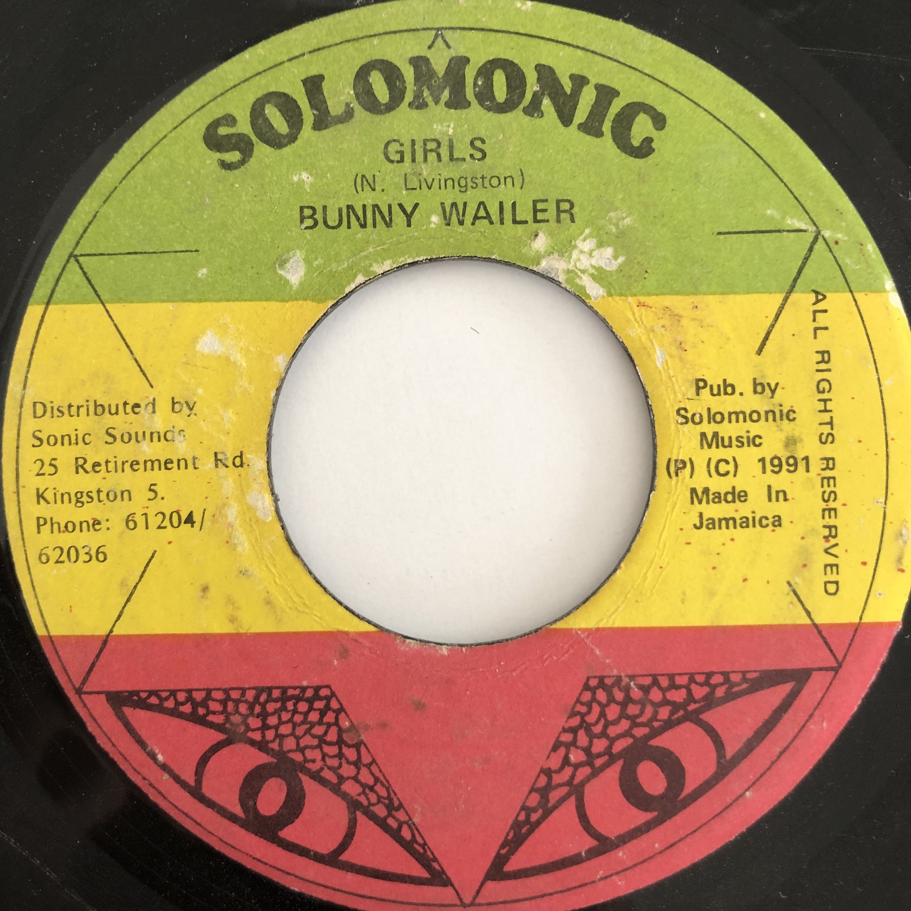 Bunny Wailer(バニーウェイラー) – Girls【7-20111】