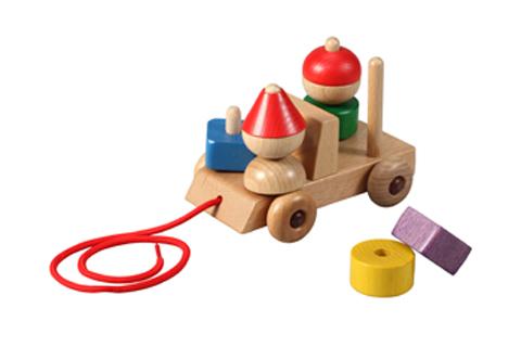 木のおもちゃ Play Me Toy プレイミートイズ社 ギフトカー 木製車のパズル