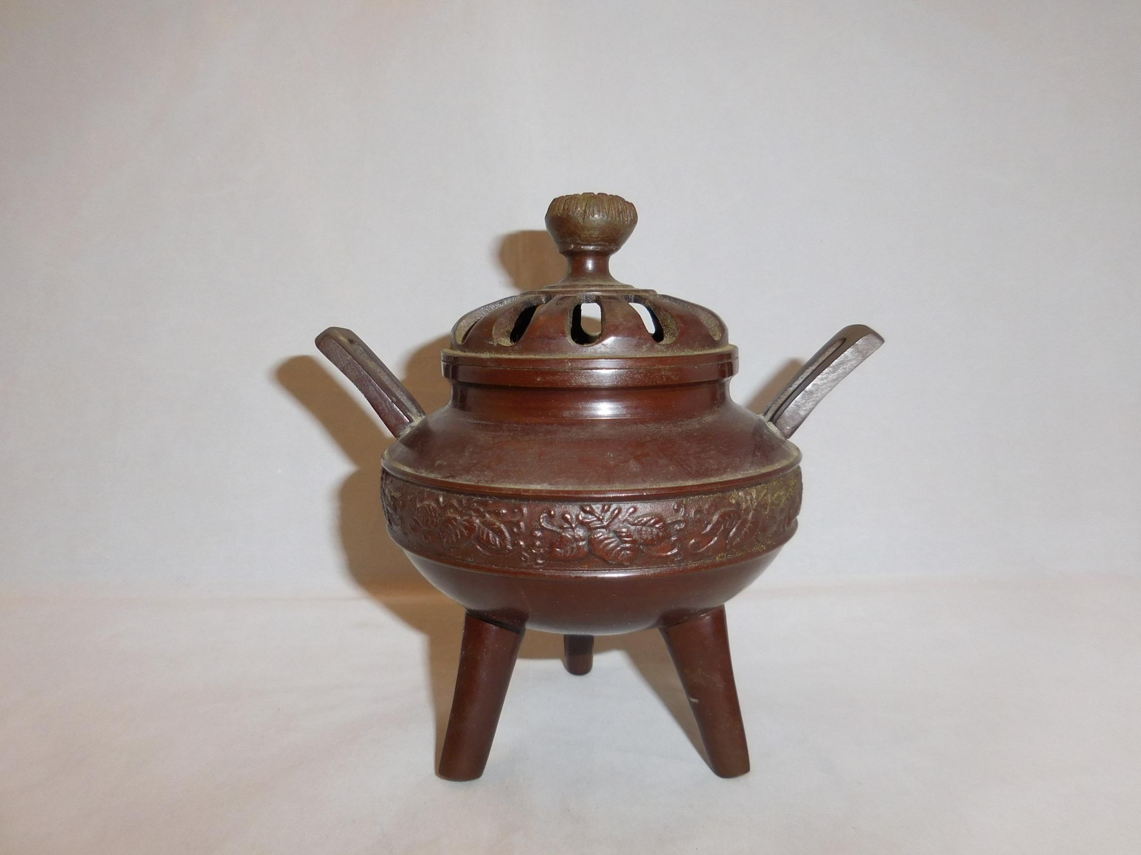香炉 multi-metal incense burner (No23)