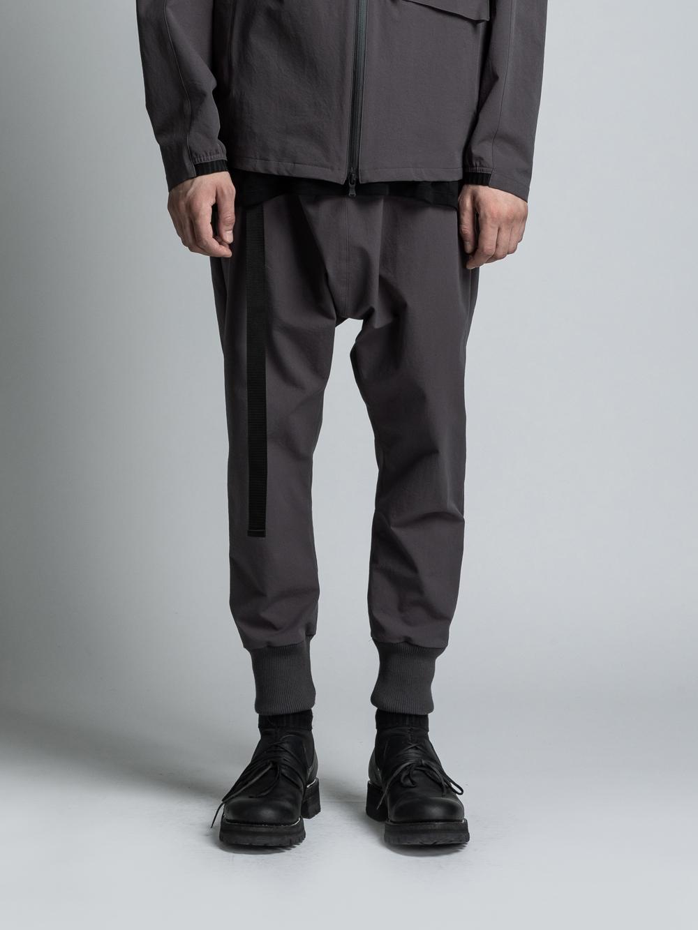 VI-3185-04 / 撥水 ストレッチクロス 裾リブパンツ