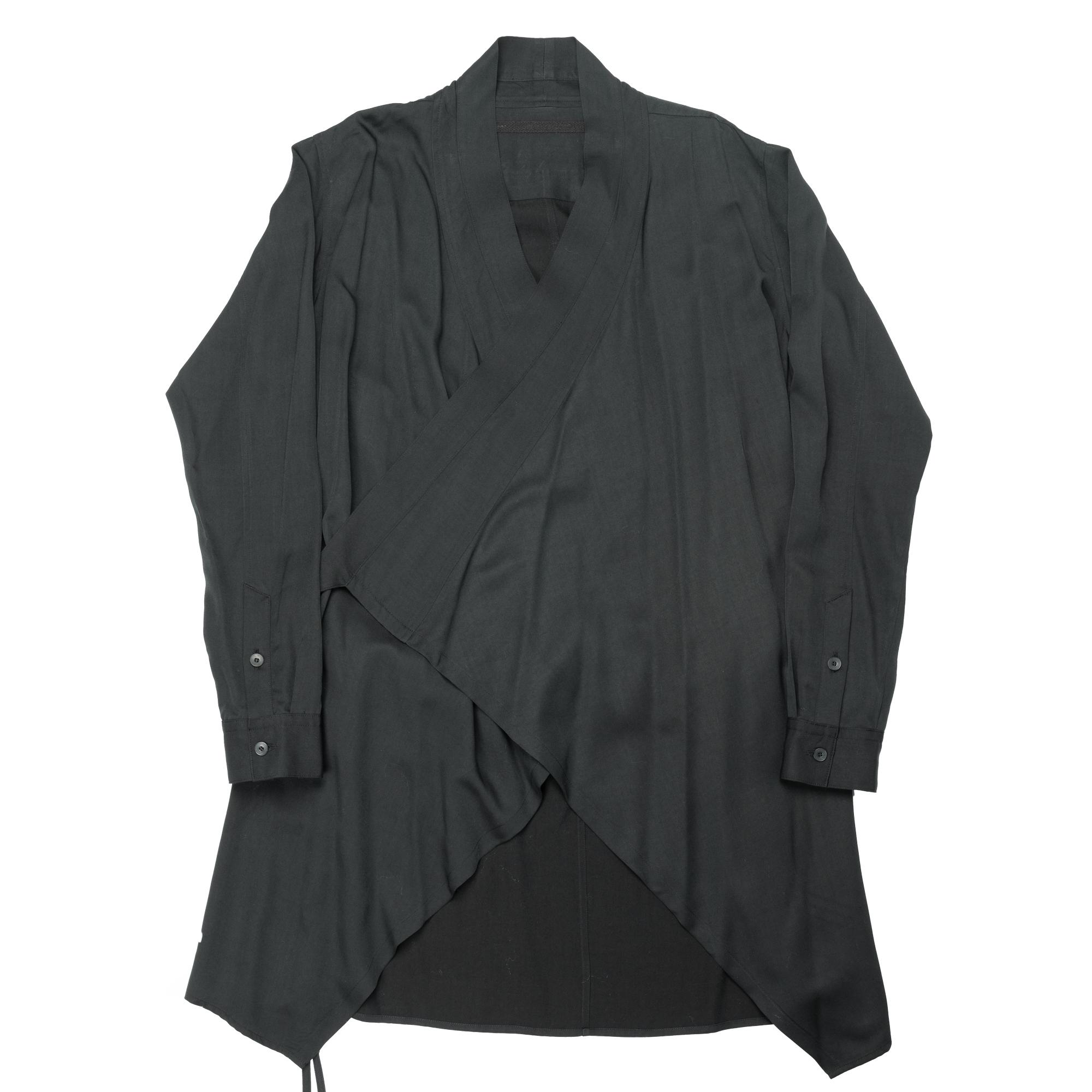 647SHM1-DARK GREEN /  Wラッピングシャツジャケット