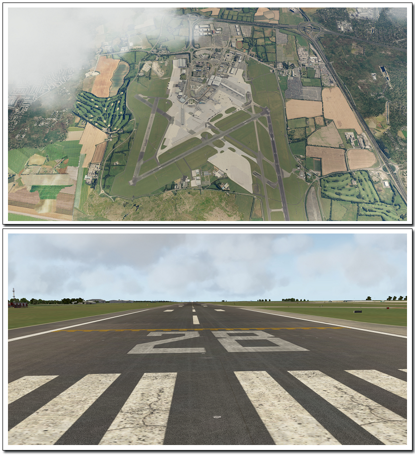 Xプレイン10拡張パック ダブリン空港