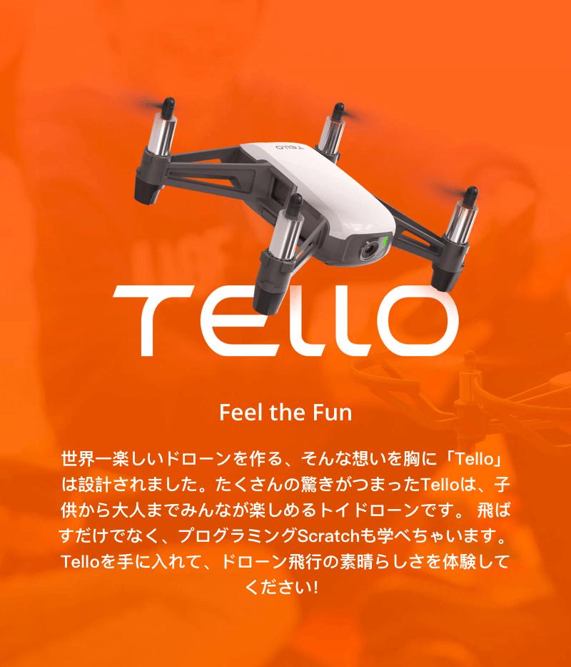 Ryze Tello Powered by DJI