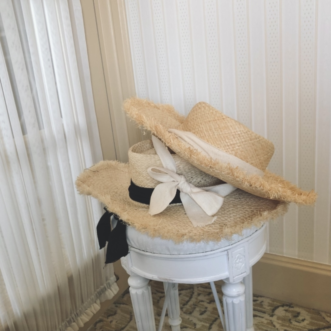 6/11【NEW】classical straw Hat