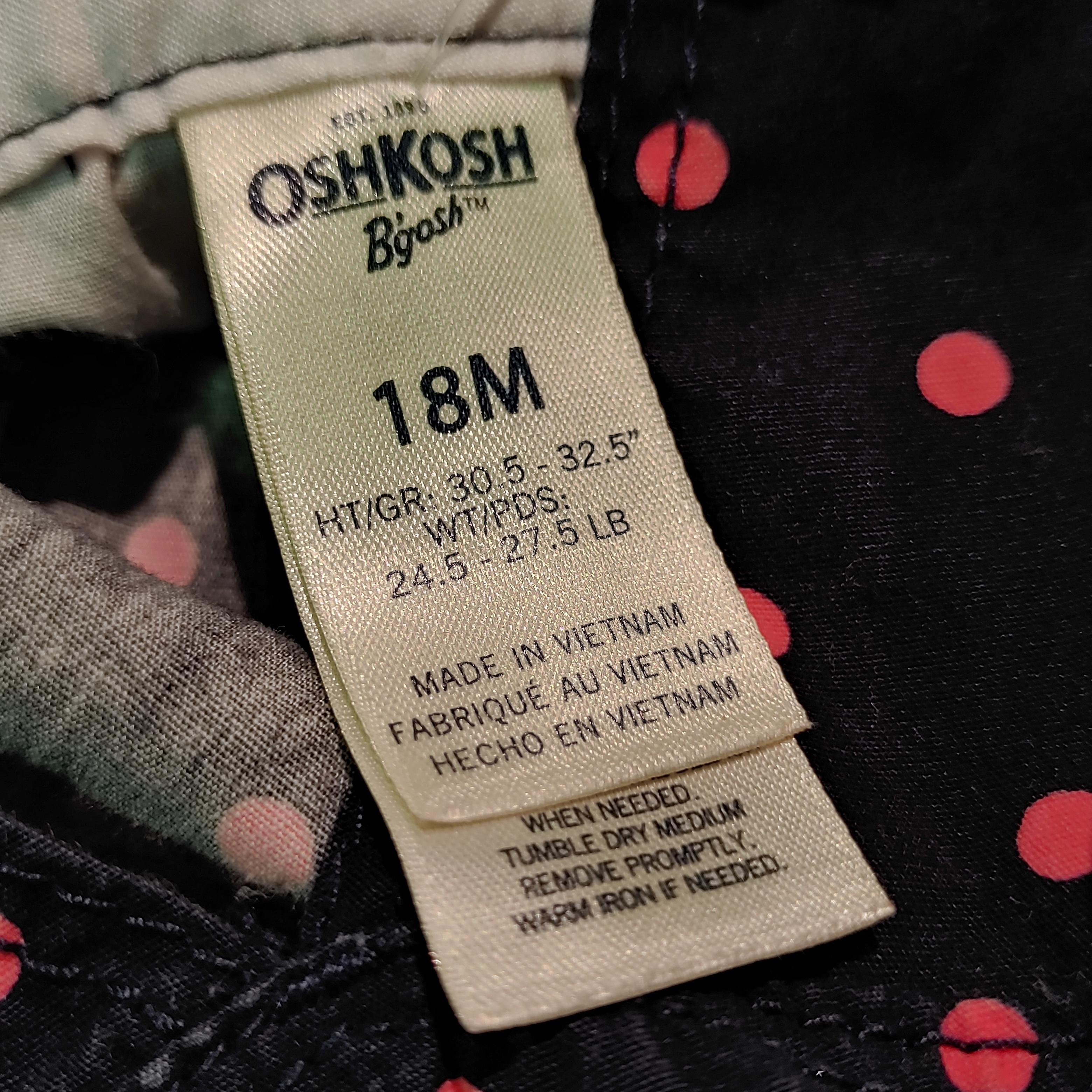 【KIDS USED】Oshkosh Overall*18M