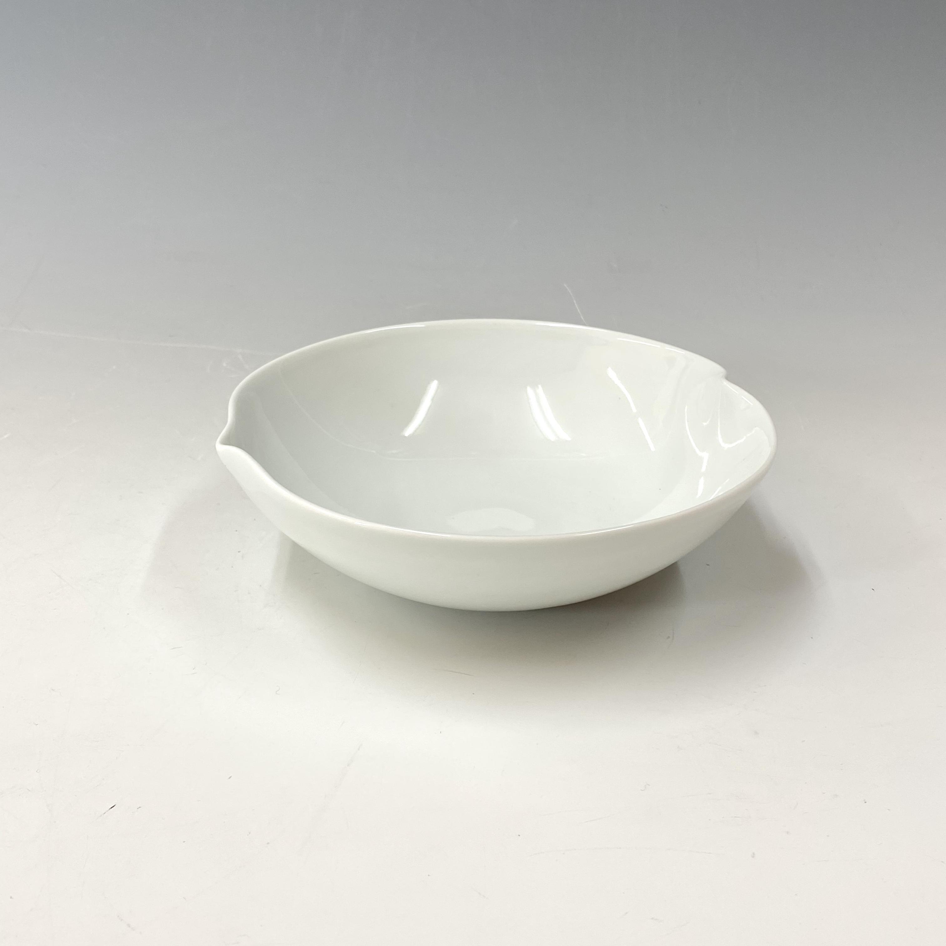 【中尾恭純】白磁多用鉢