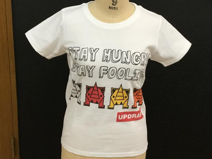 【ウィメンズ】オリジナルサイTシャツ ホワイト(綿100%)