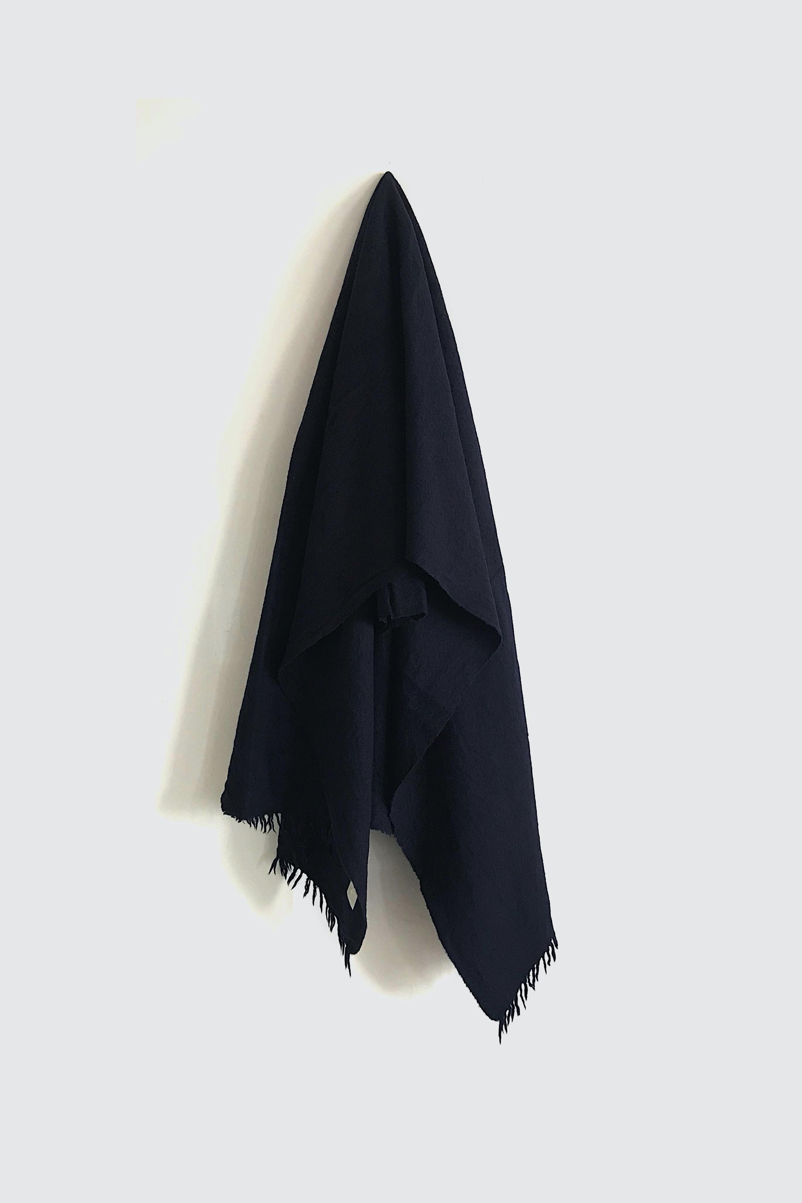 01471-4 muji stole / navy