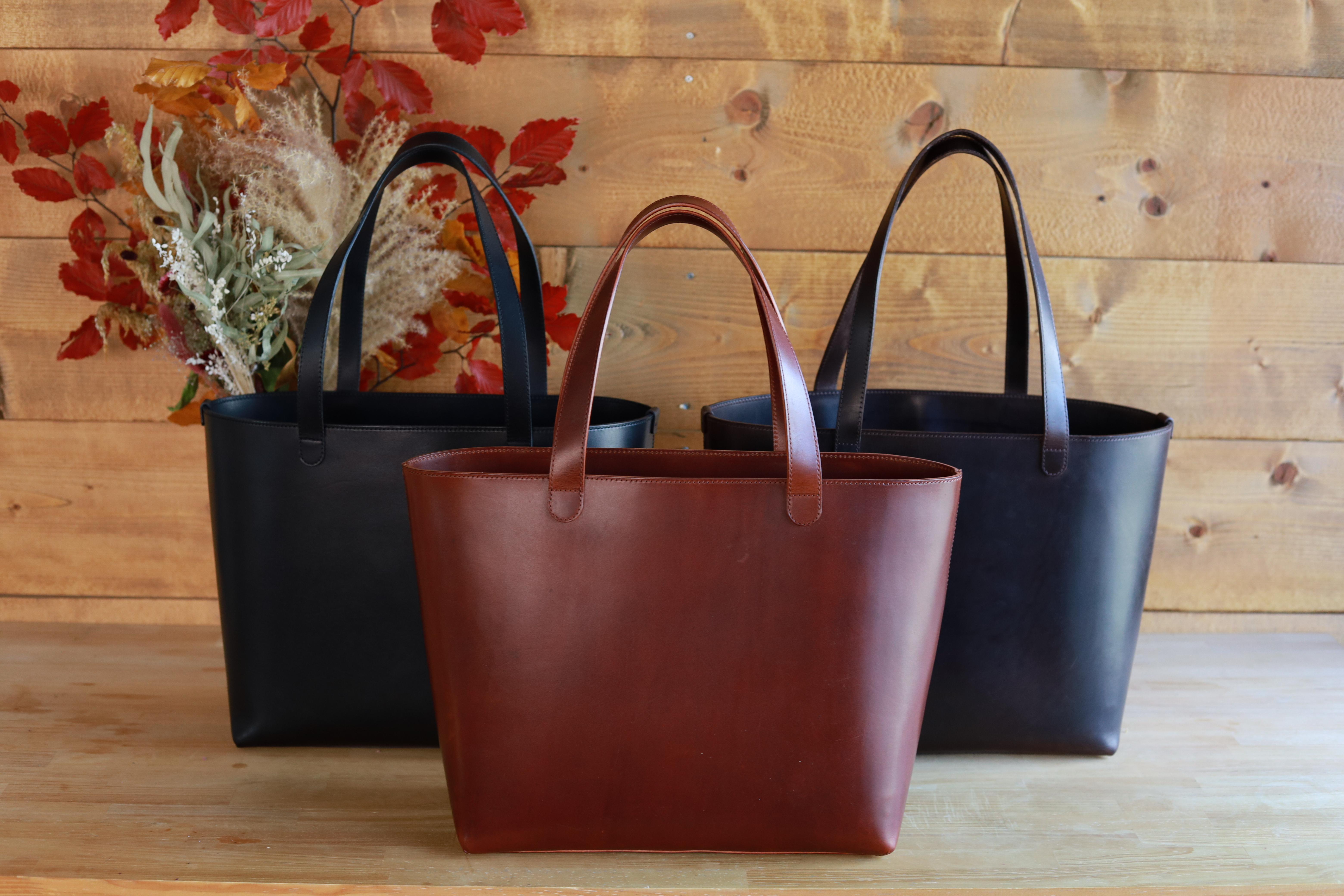 UPDATE|No.03 Leather Tote Bag