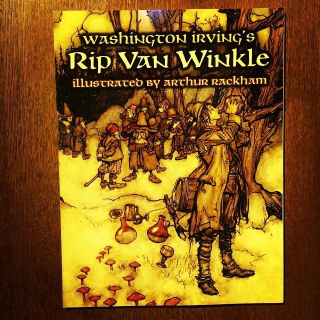 絵本「Washington Irving's Rip Van Winkle/Arthur Rackham」 - 画像1