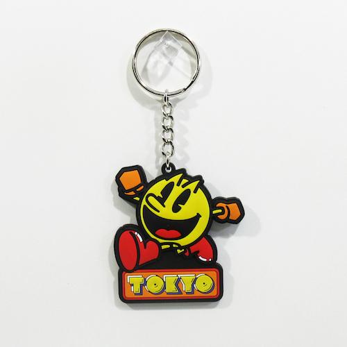 TOKYO PAC-MAN ラバーキーチェーン