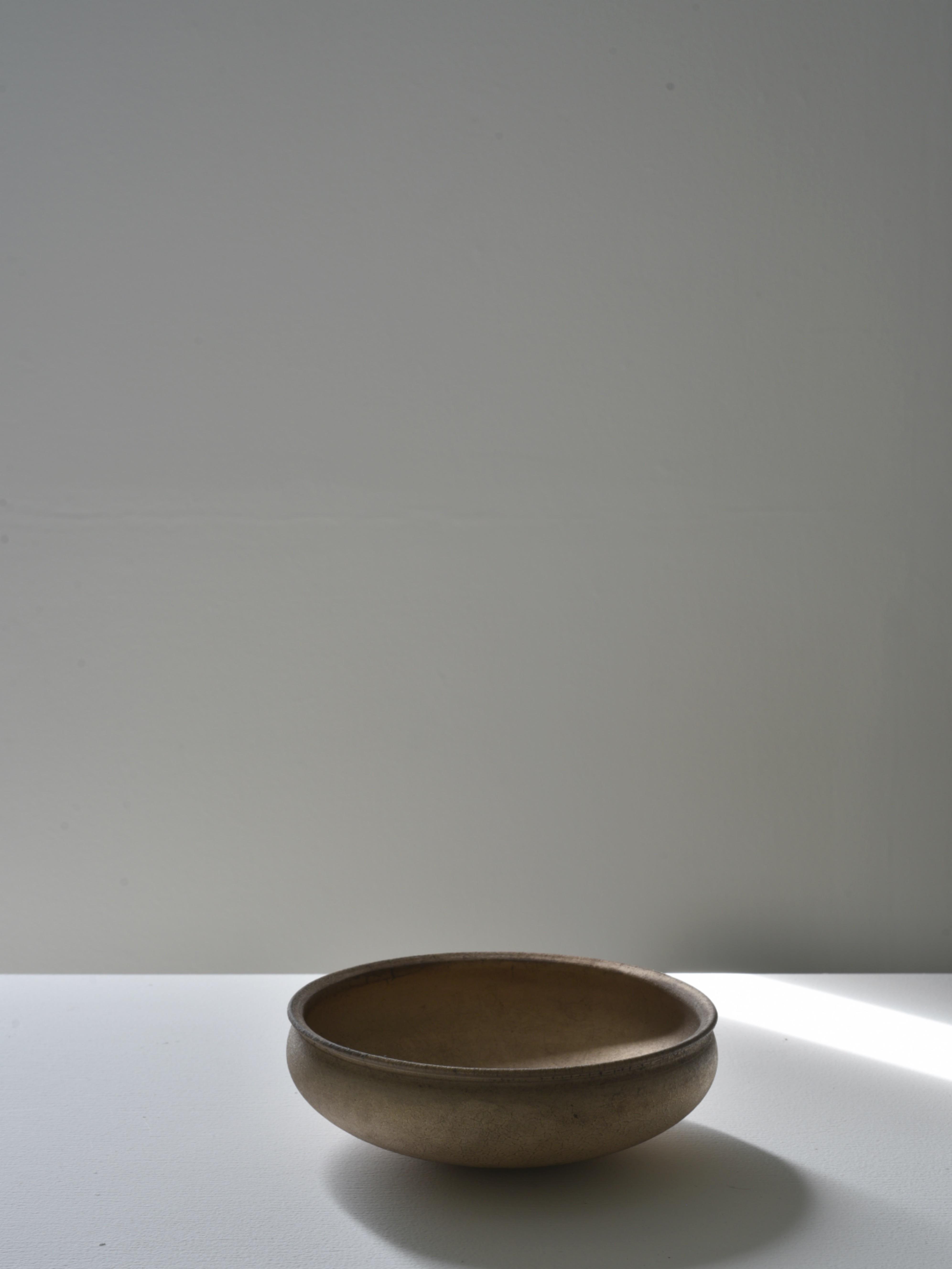瀬川辰馬|硫化銀彩丸鉢