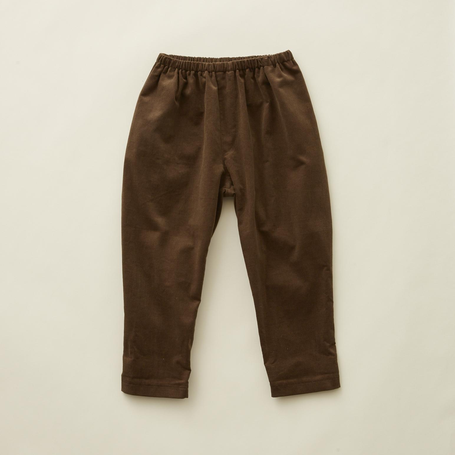 《eLfinFolk 2020AW》corduroy  pants / brown / 110-130cm