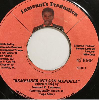 Samuel R. Lamount(サミュエルラマウント) - Remember Nelson Mandela【7'】