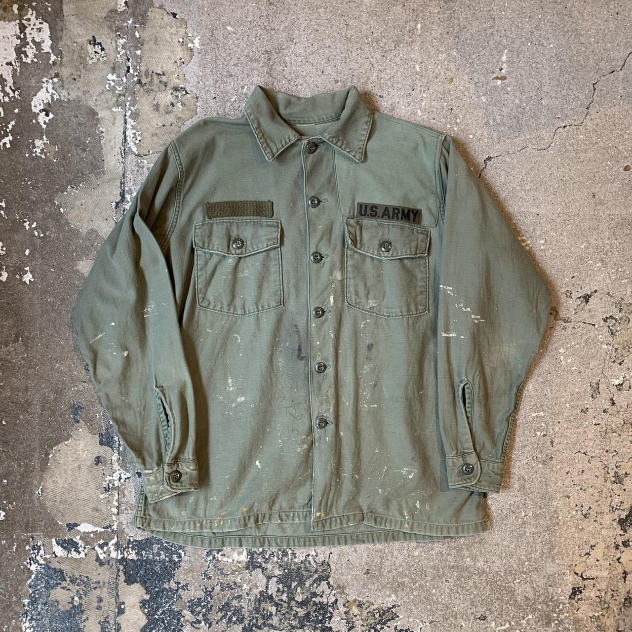 70's US ARMY Utility shirt