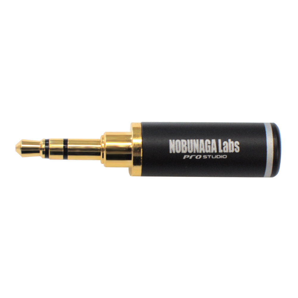 【まとめ買い 5セット 10%割引】3.5mm3極プラグ NLP-PRO-TP3.5  :: NOBUNAGA Labs pro studio