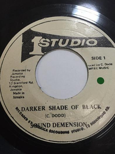 The Soul Vendors(ソウルベンダーズ) - Darker Shade Of Black【7'】