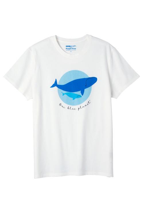 【ピープルツリー】BBC Earth ユニセックスTシャツ(オーガニックコットン)