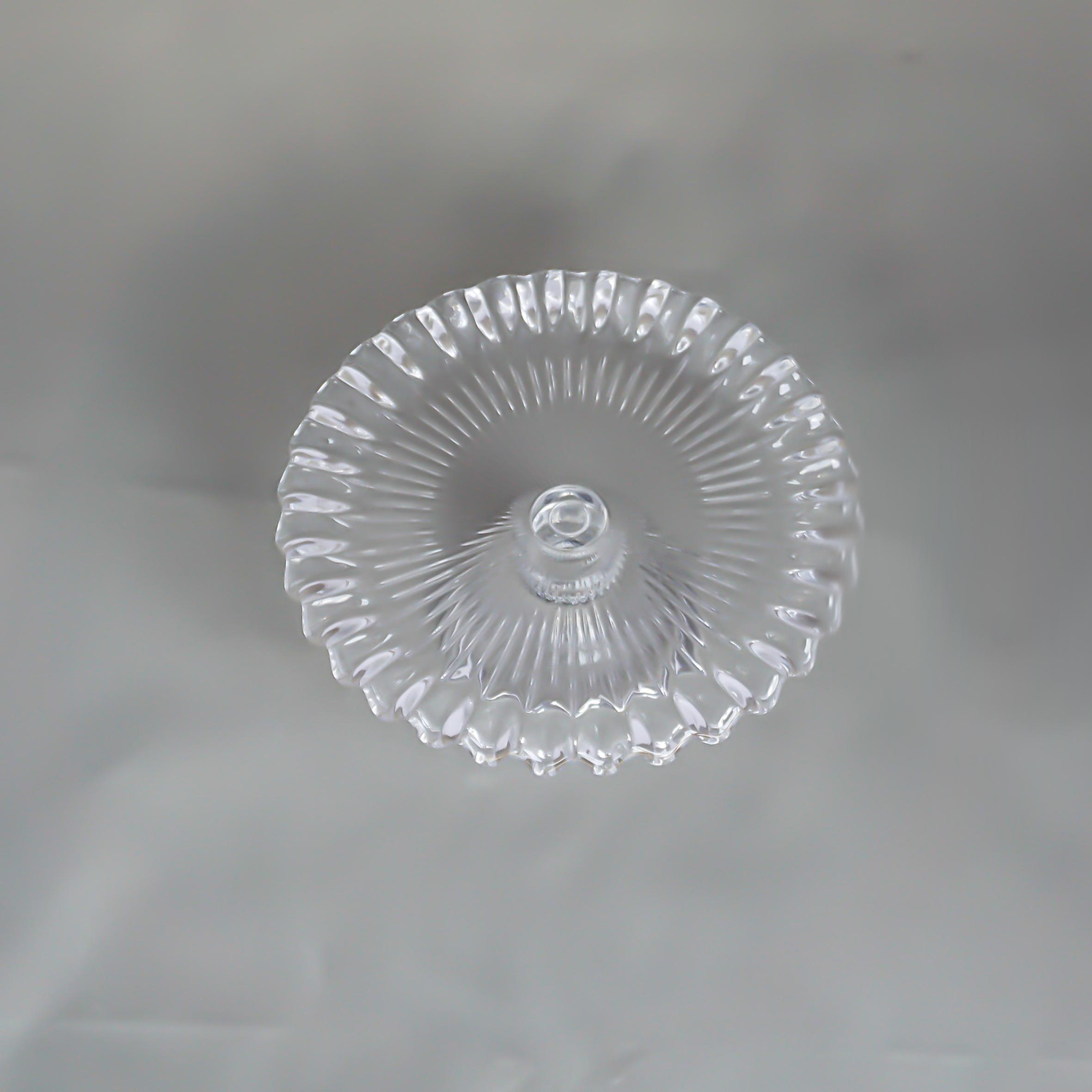 【再入荷】ケーキスタンド ガラスプリーツ