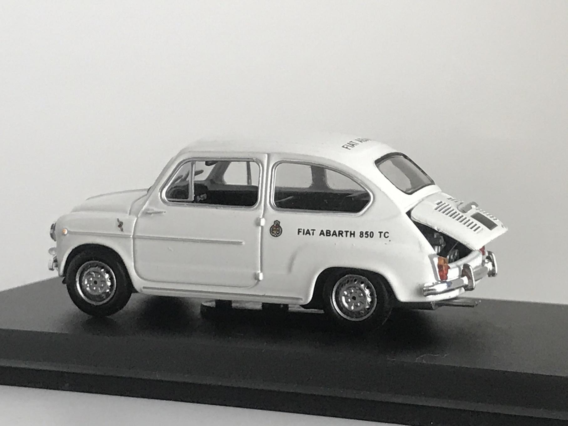 FIAT 850 TC CORSA 1963 (1/43) 【metro】