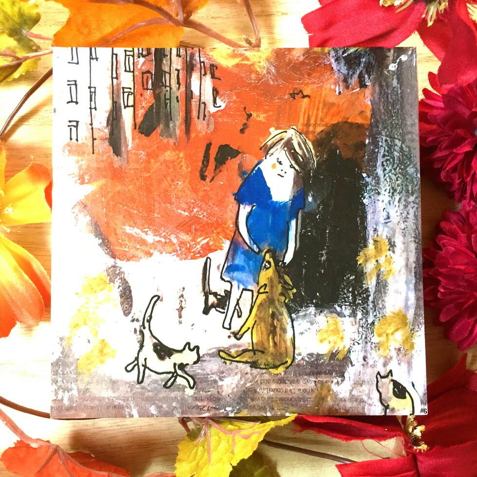 絵画 インテリア アートパネル 雑貨 壁掛け 置物 おしゃれ イラスト 団地 太陽 ロココロ 画家 : mycof 作品 : まだ眠る団地に日が昇る ひとつの窓にひとつずつ