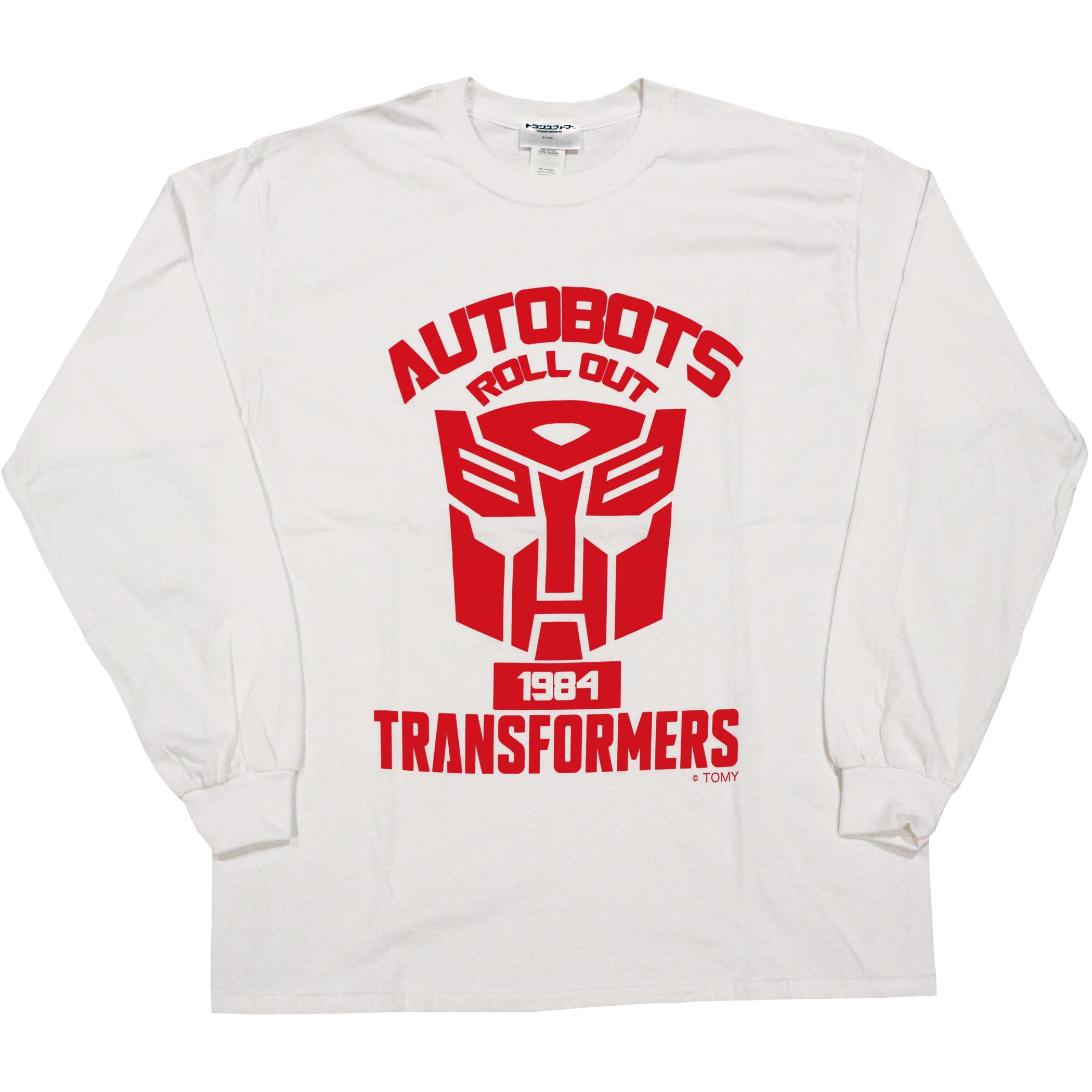 【トランスフォーマー】戦え!超ロボット生命体トランスフォーマー|サイバトロンエンブレム ロングスリーブTシャツ