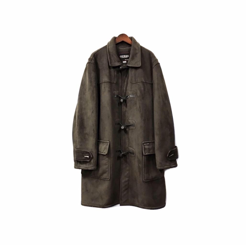 GUESS - Fake Mouton Coat ¥18000+tax