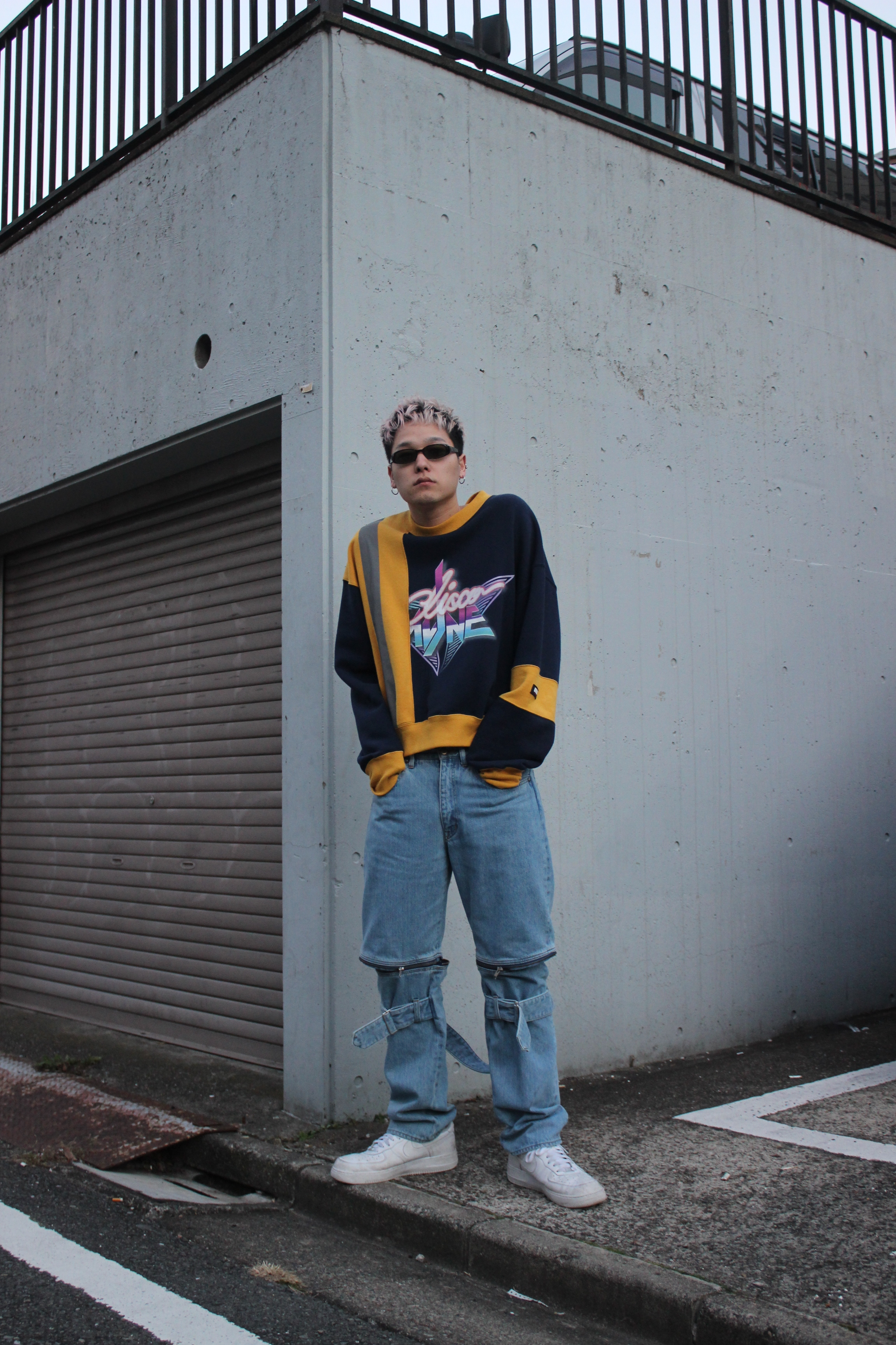 DENIM BONTAGE PANTS / INDIGO - 画像3