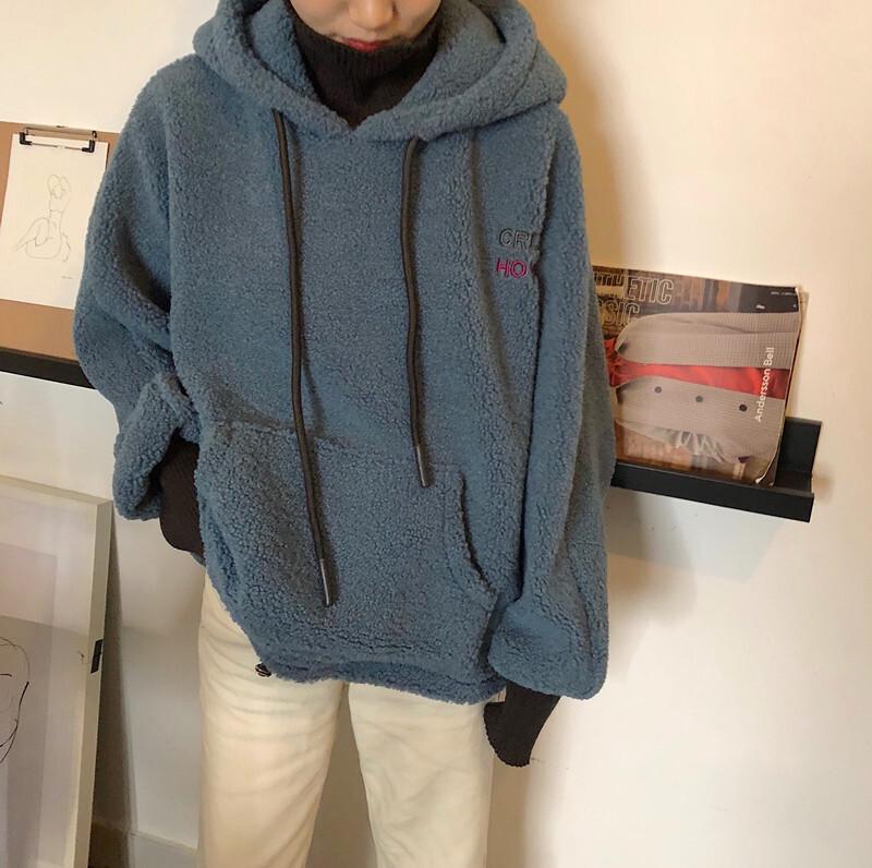 もこもこラムベルベットセーター【moco moco ram velvet sweater】