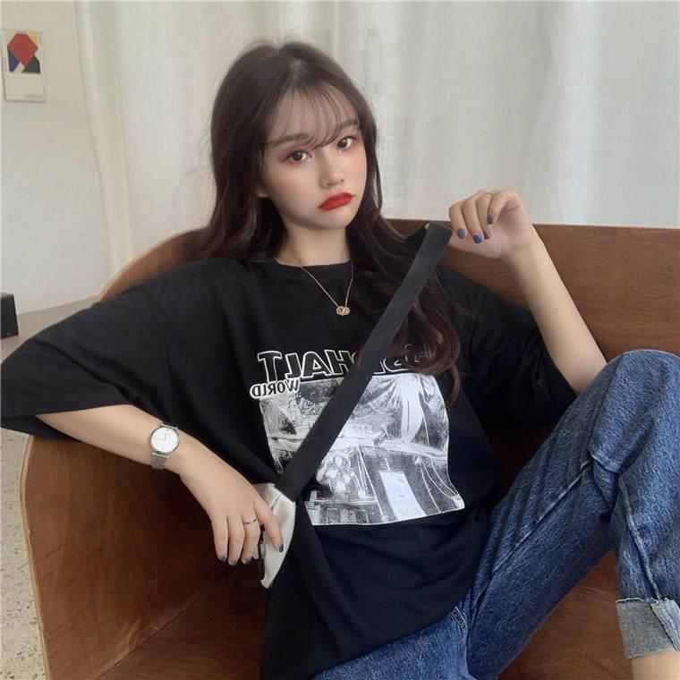 【送料無料】 おしゃれデザイン♡ ゆるだぼ ユニセックス メンズライク ビッグシルエット オーバーサイズ Tシャツ