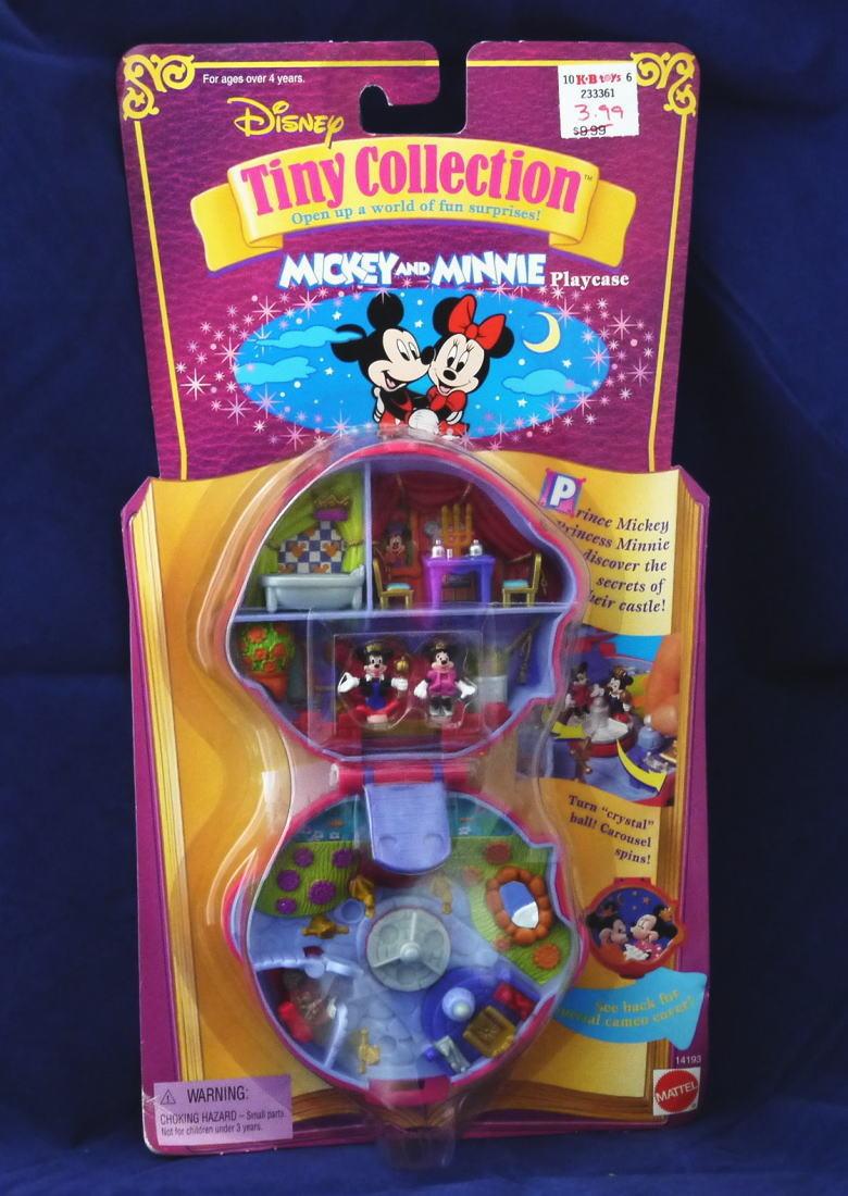 ミッキーとミニーのコンパクト&フィギュア 新品セット