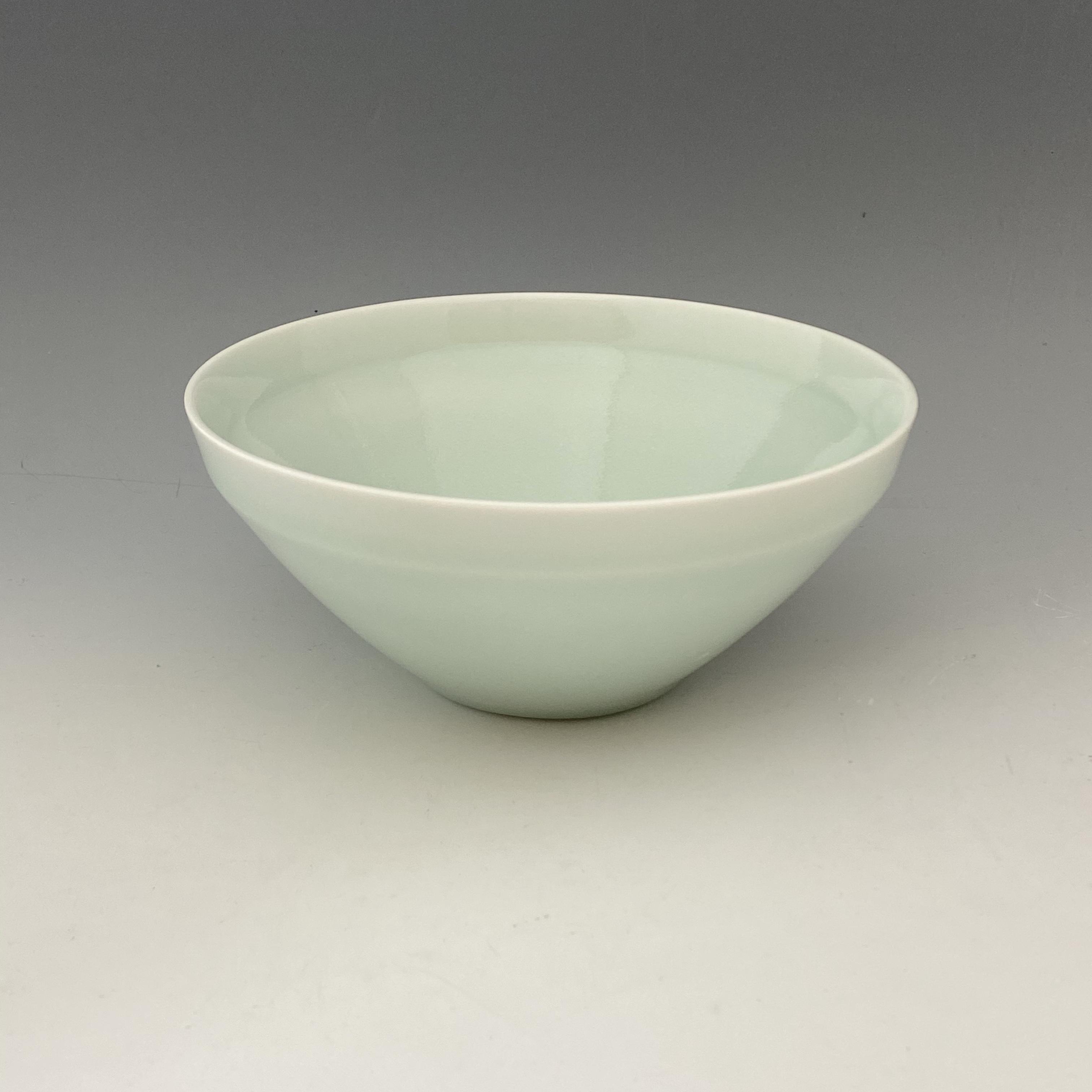 【中尾純】青白磁鉢(深)