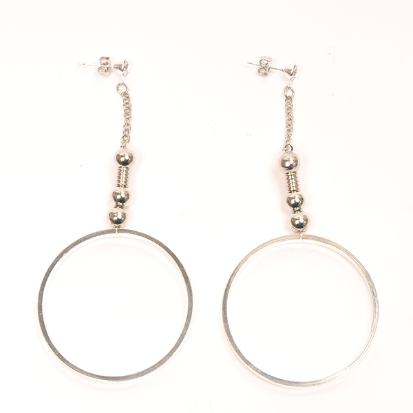 hs17AW-IRJ01 RING PIERCE (silver)