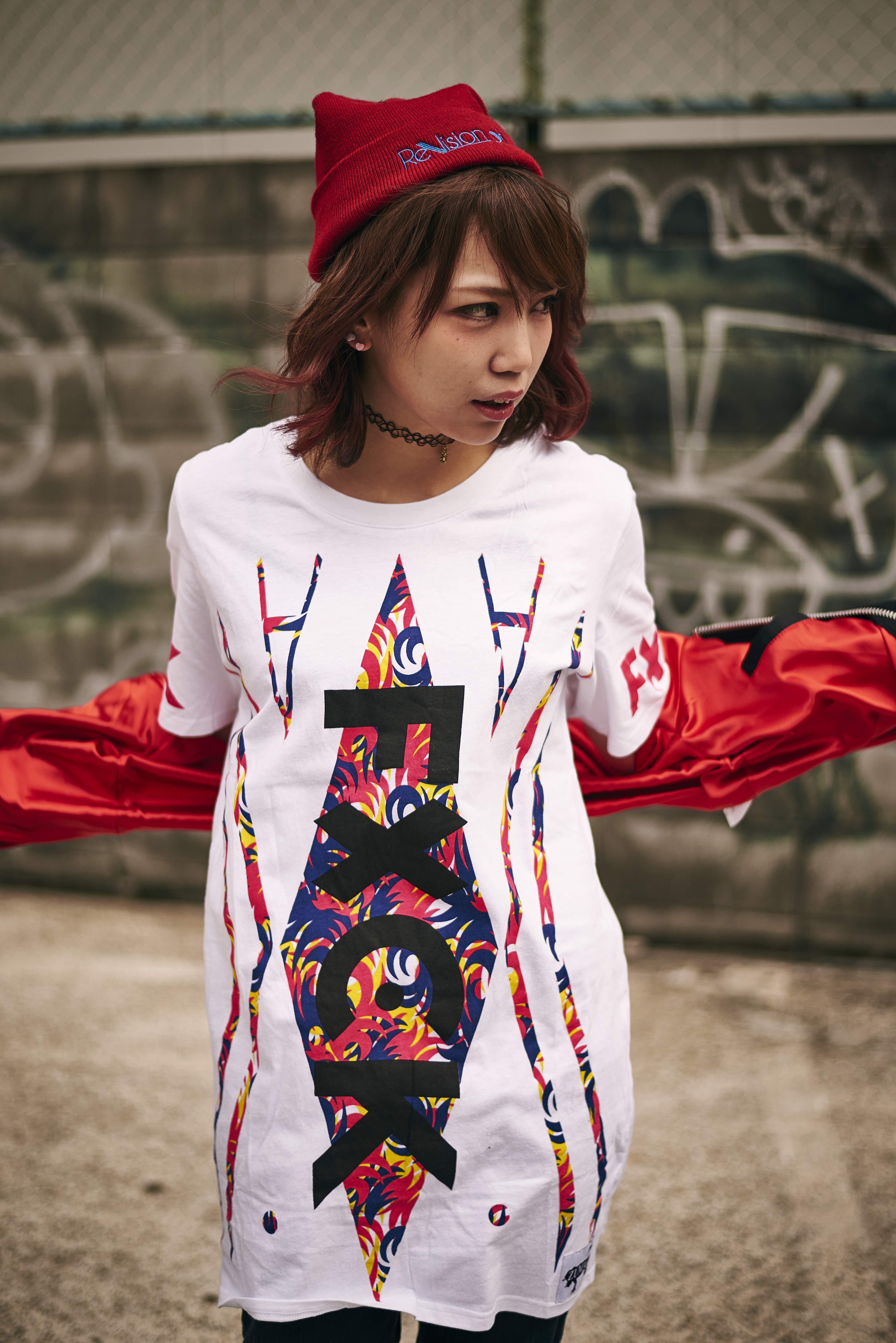 【ZUMA】ワンピースTシャツ - FxCK