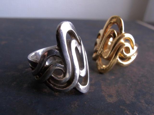 Knot Ring/ノットモチーフリング