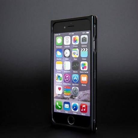 iPhone 6P/6s ジュラルミンケース マッドブラック