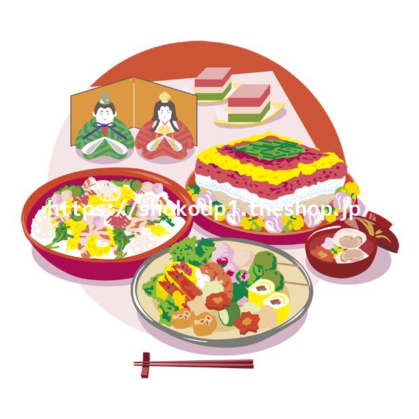 和食(ひな祭り)