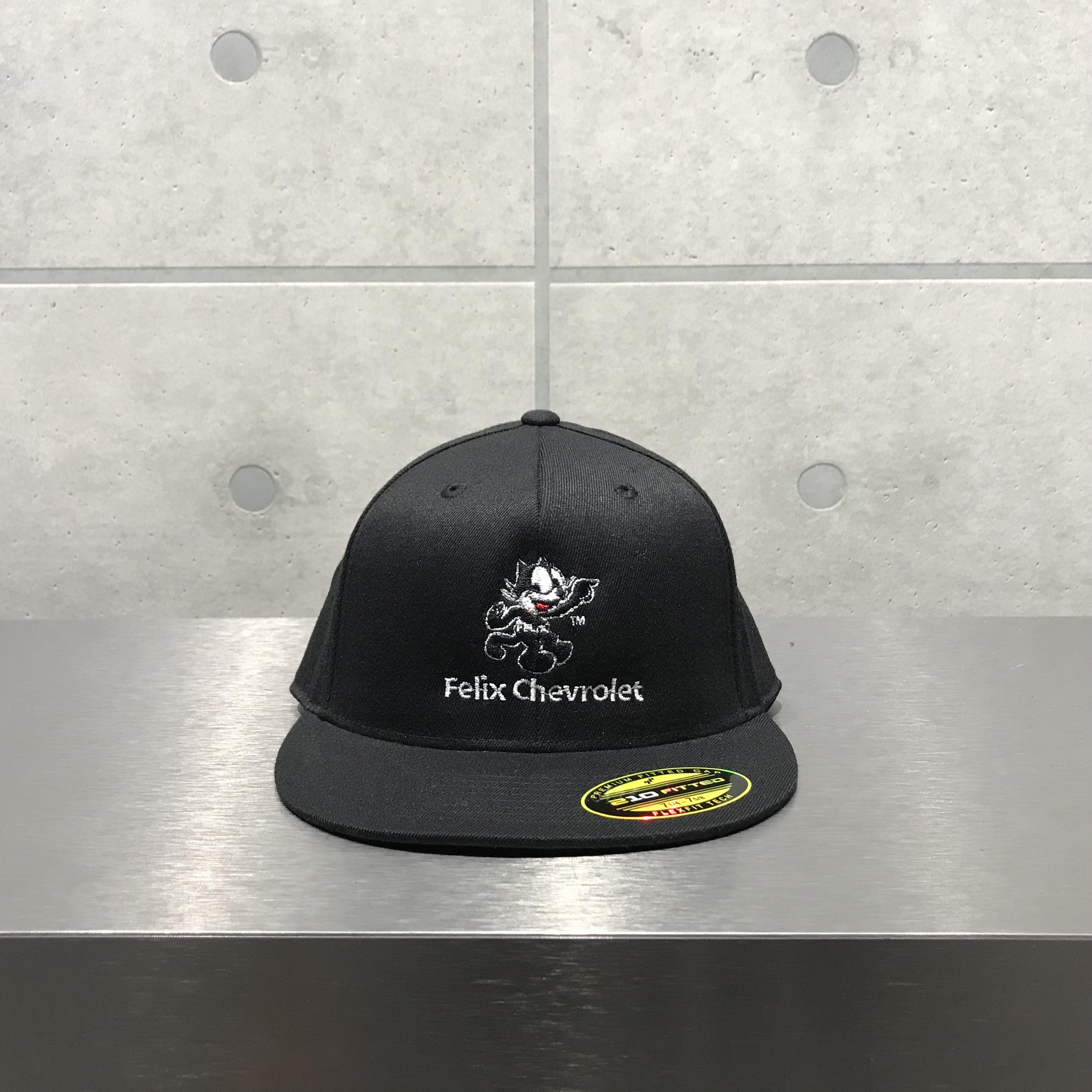 FELIX x CHEVROLET 6-PANEL CAP / BLACK
