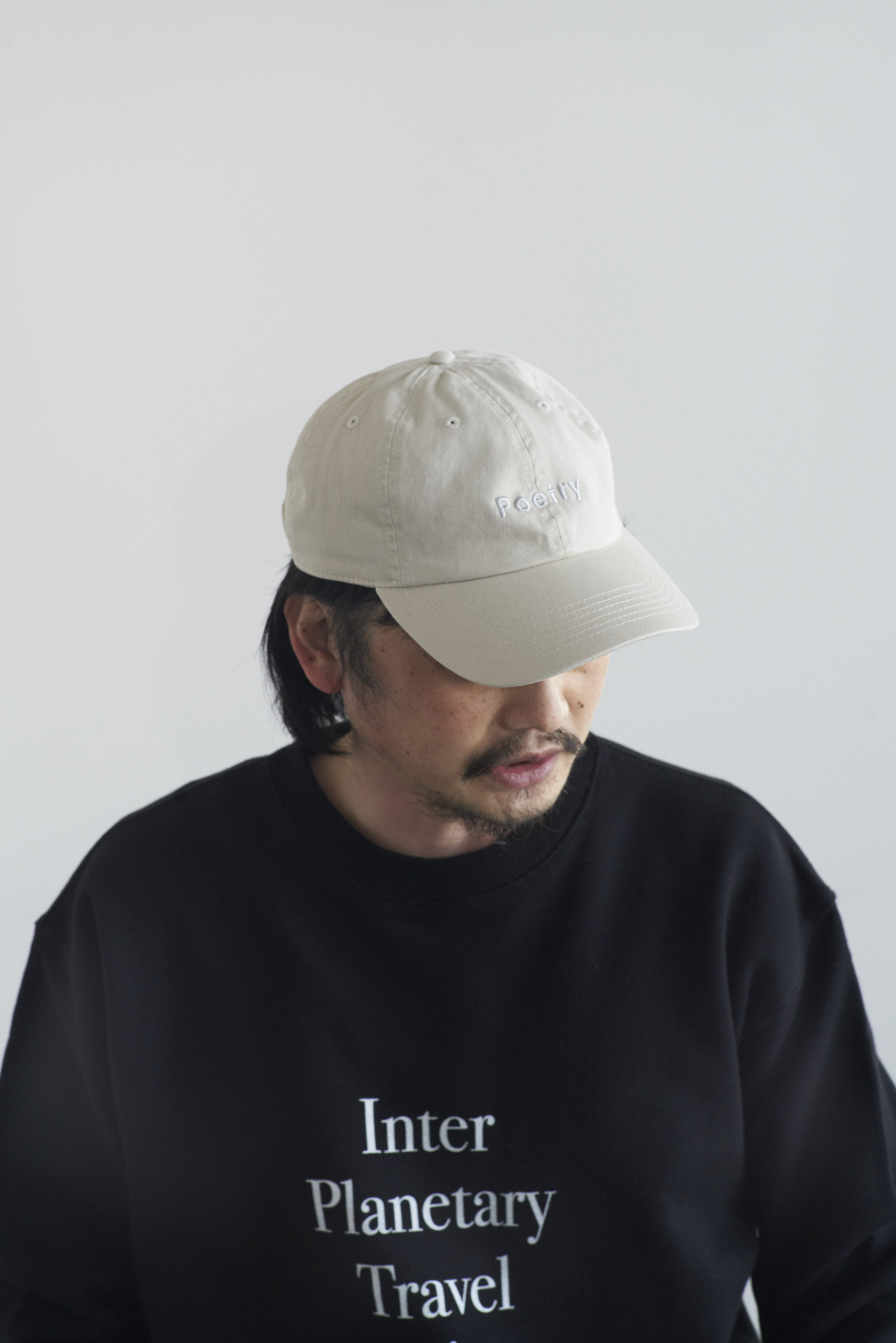 POET MEETS DUBWISE Poetry Embroidery Cap