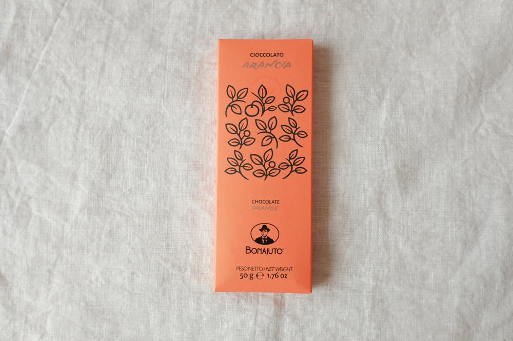 Antica Dolceria Bonajuto(アンティカ・ドルチェリア・ボナイユート)古代チョコレート【 オレンジ 】50g