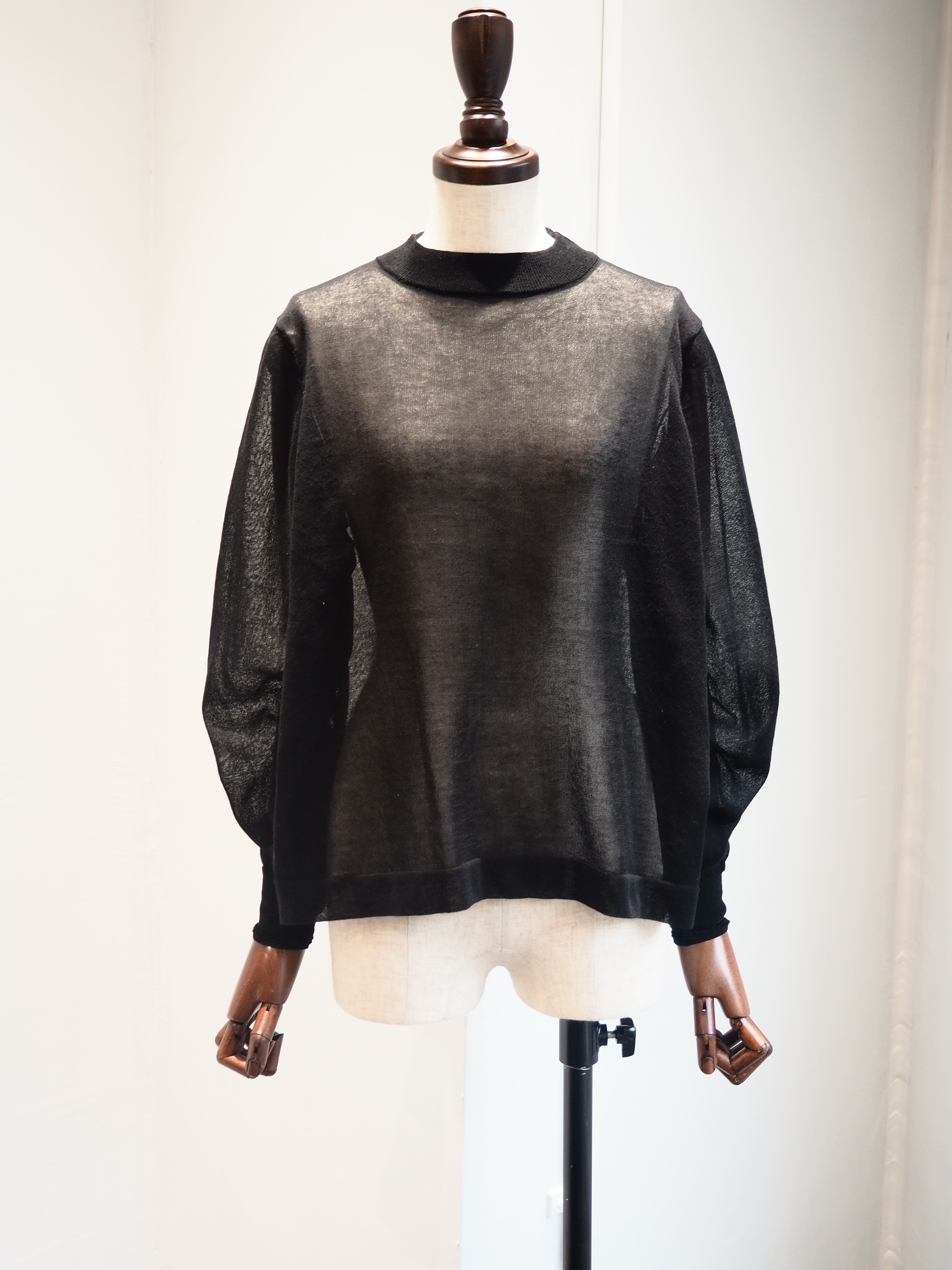 【TICCA】STAND NECK PULLOVER