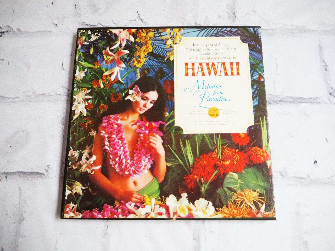 品番0462 レコード Hawaii Melodies From Paradise ハワイアン ヴィンテージ