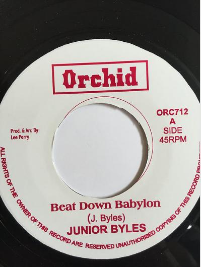 Junior Byles(ジュニアバイルス) - Beat Down Babylon【7inch】