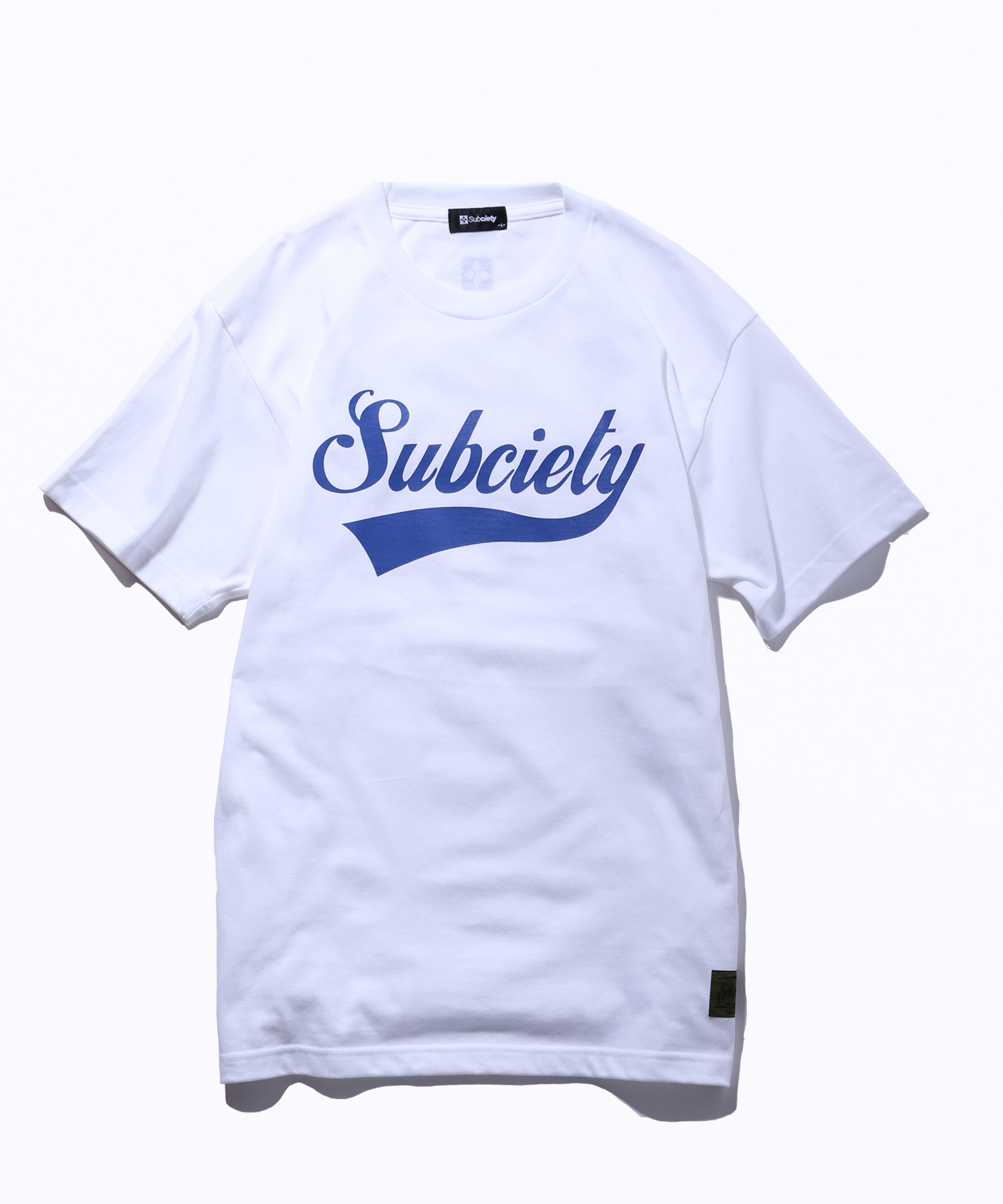Subciety(サブサエティ) | GLORIOUS S/S (White / Navy)