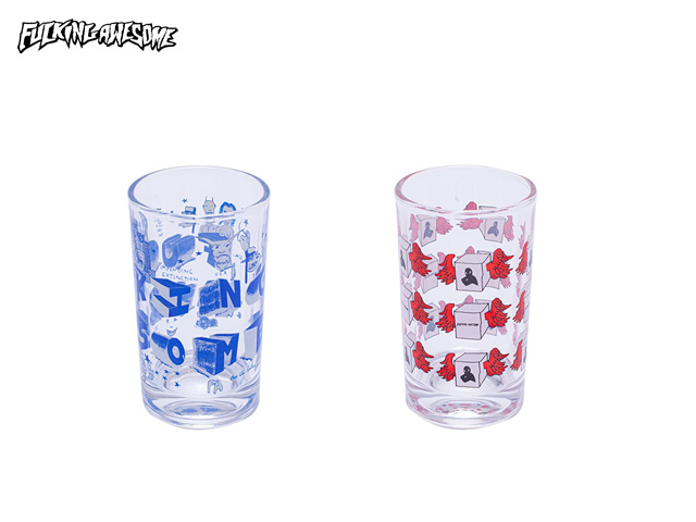 Fucking Awesome|Juice Glass Set