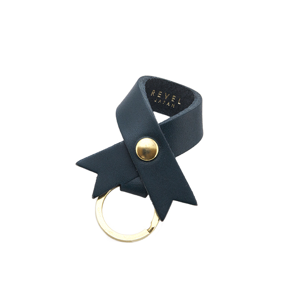 RIBBON KEYHOLDER BLUE [EST OIL]
