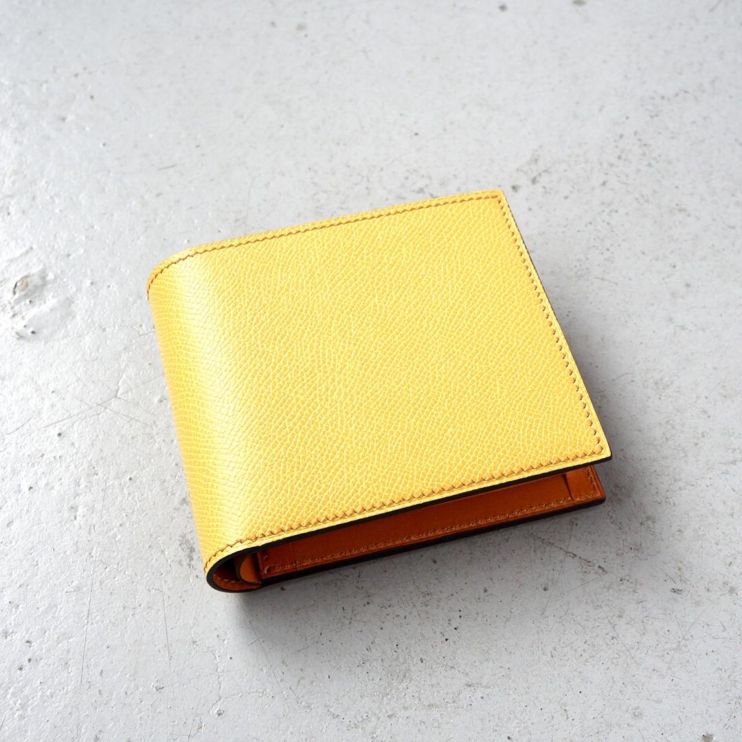 二つ折財布 <Regulus> イエロー