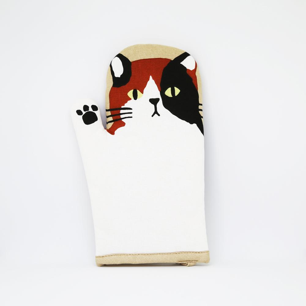 猫ミトン鍋つかみ(三宅さんハーイ)